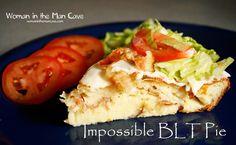 Impossible BLT Pie