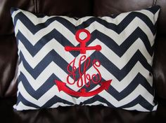 Monogrammed Travel Pillow Cover 12 X 16 1 Pillow by monogram4u, $30.00