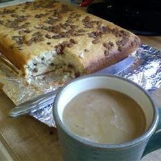 Sour Cream Coffee Cake III from Allrecipes (http://punchfork.com/recipe/Sour-Cream-Coffee-Cake-III-Allrecipes)