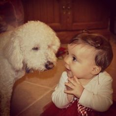 21 Babies Meeting Dogs For The First Time