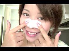 DIY pore strips