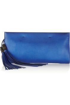Shop now: Blue Gucci Clutch