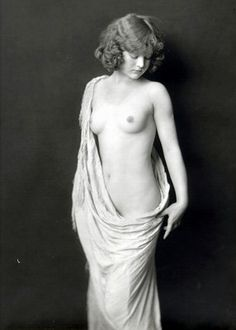 "Vintage Erotic Real Photo Nude c1920's Naked Lady Photograph Erotica 7"" x 5"" 