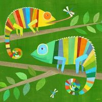Themes For Classrooms: Chameleons Color Your Classroom!