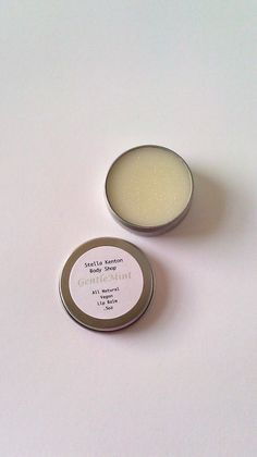 #Vegan Cooling Mint Eucalyptus Lip Balm #handmade