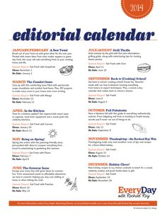Editorial Calendar #Strategy Advice for #PublicRelations Professionals