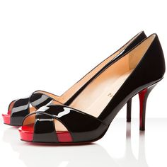 CHRISTIAN LOUBOUTIN SHELLEY Black high heels with red soles #designer #shoes #heels #black #red #sole #redsole #christian #louboutin #christianlouboutin #bridal #bridalshoes #wedding #weddingshoes #jevel #jevelwedding #jevelweddingplanning Follow Us: www.JevelWeddingPlanning.com www.facebook.com/jevelwedding/ www.twitter.com/jevelwedding/