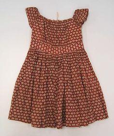 Child's dress, ca. 1840; MMA C.I.42.175
