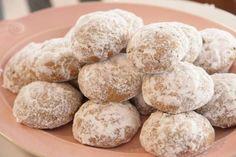 Pfeffernusse. Peppery german cookies. Yum.