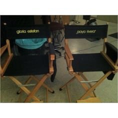 Gloria Estefan shooting her scenes on the upcoming Glee finale!
