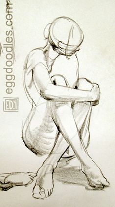 Egg Doodles: Jan21 figure drawing