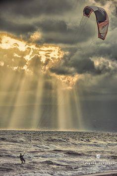 Kite surf by Antonis Panitsas