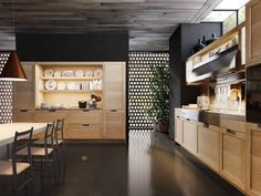 Lux Classic kitchens by Pietro Arosio for Snaidero