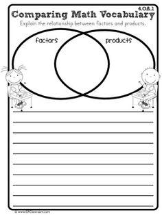 4th Grade Common Core Math Journal