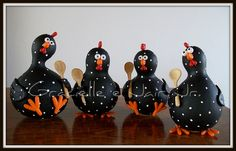 black dot chickens