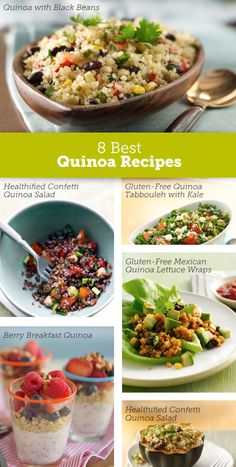 Our all-time favorite quinoa recipes for morning, noon or night.