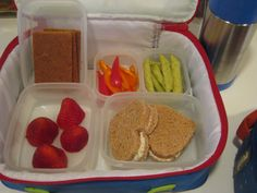 The Full Plate Blog: What's in the lunchbox today...