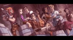 Firefly the Animated Series.