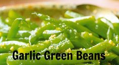 Recipe of the Day: Garlic Green Beans
