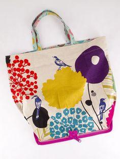 dobleufa: Foldable bag - DIY - English version
