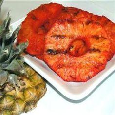 pineapples, grill pineappl, fruit food, pineappl food, drink, barbequ pineappl, bbq pineapple, beauti, recip