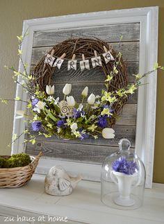 craft, frame, diy wreath, spring diy, spring wreaths
