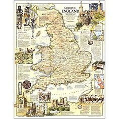 1979 medieval England map