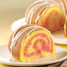 Spring Velvets Blossom Cake: