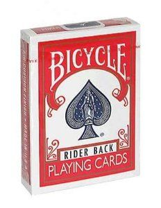 Amazon.com: Bicycle Poker Size Standard Index Playing Cards (Blue or Red): Toys & Games