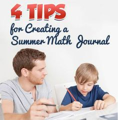 Keeping a #math journal over the summer helps your child review math concepts and skills. Our #LearningToolkit blog has more.