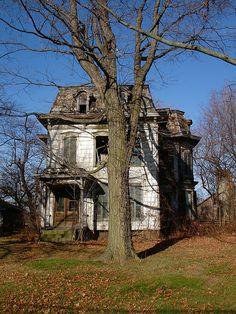 Abandoned Mansion, Milan OH