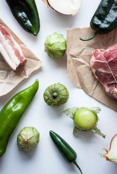 Green & Pork Chili | bloggingoverthyme.com