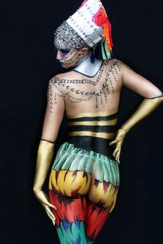 DRAGON: The world bodypainting festival_2014