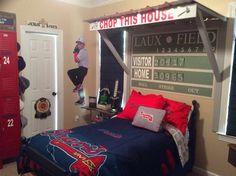 Baseball room decor