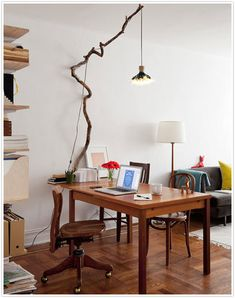 Happiness Crafty: DIY Branches Decor Ideas