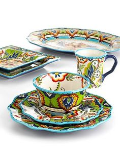 Tabletops Unlimited Dinnerware, Bocca Collection