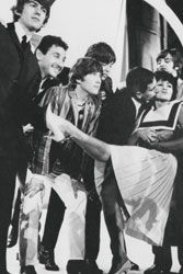 """Chita Rivera and Mike and Bernie Winters from """"The Beatles: Then There was Music"""" - Tim Hill beatl"""