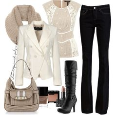 """""""Winter Walk"""" by sharon-grisnich on Polyvore"""