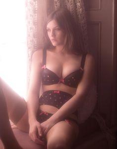 polka dots, sexi, lingerie, style, sprinkles, boudoir, inspir, beauti, agent provocateur