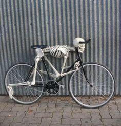 #skeleton #bike #bicycle