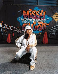 Missy Elliott!!! LOVE LOVE LOVE her music!