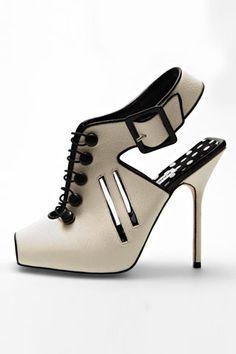 Manolo Blahnik cut-out heels