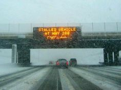 The Internet is Leaking Again (also, is this MN Hwy 280??? could be, look at that snow!)