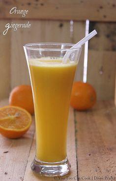 Orange Gingernade