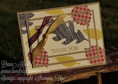Stampin' Up! Fall/Thanksgiving Triple Time Stampin' Card