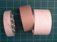How to make fabulous bangle bracelets from used packing tape cores