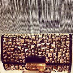 Michael Kors Studded Clutch