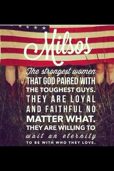 The strongest women paired with the toughest guys. - MilitaryAvenue.com