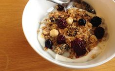 Hazelnut Granola (GF) (coconut, dried fruit, quinoa)