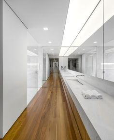 White and floor-thro